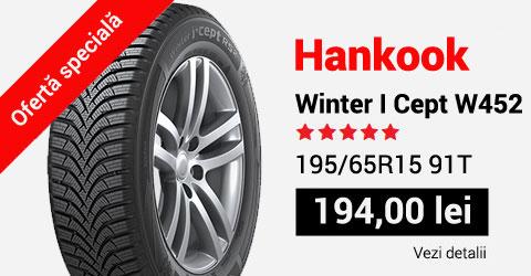 Anvelope de iarna Hankook W452 195/65R15