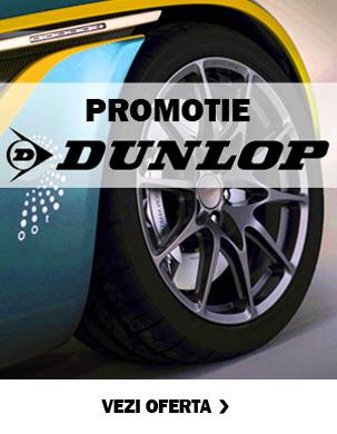 Promotie anvelope vara Dunlop