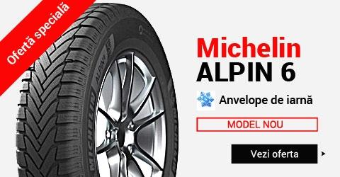 Anvelope de iarna Michelin Alpin 6