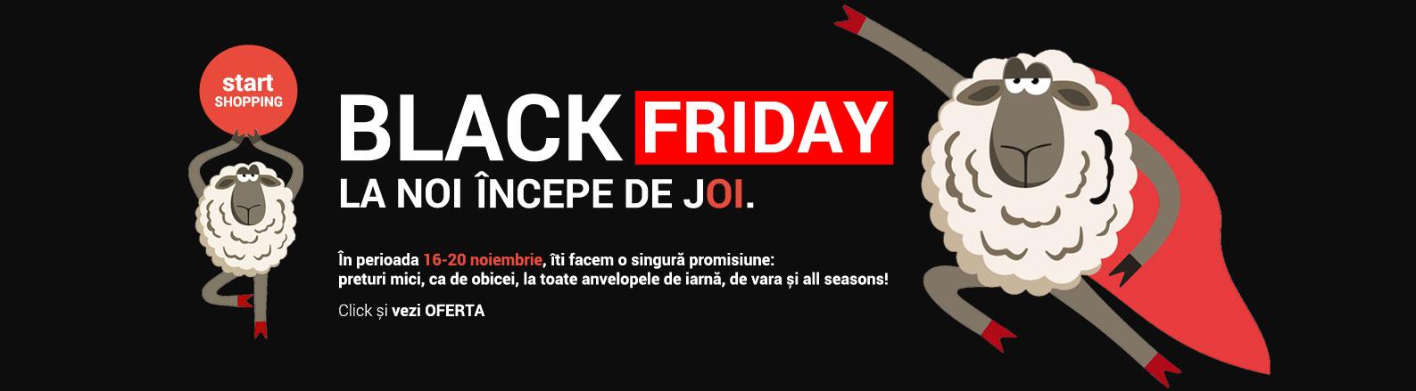 Anvelope Black Friday