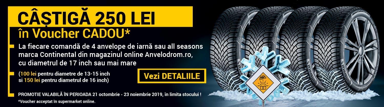 Promotie anvelope de iarna Continental