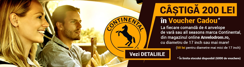 Promotie anvelope de vara Continental