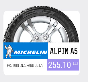 anvelope iarna michelin alpin a5